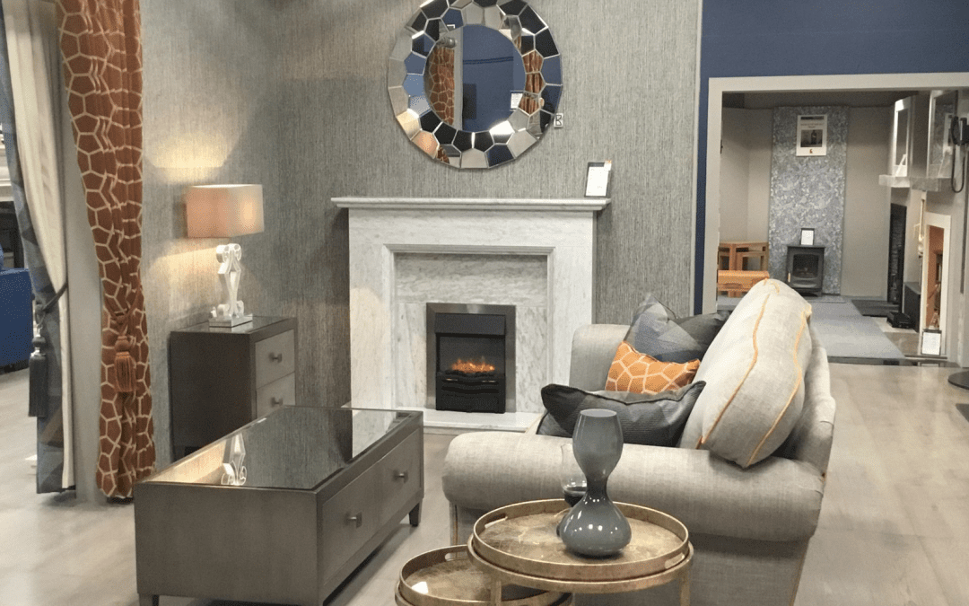 Portadown Fireplaces newly revamped showroom!